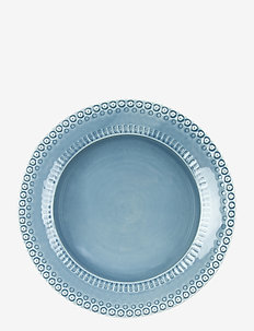 DAISY Pastabowl 1-PACK 35 cm - dype tallerkener - dusty blue