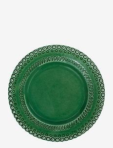 DAISY Dinnerplate 29 cm 2-PACK - mattallrikar - forest
