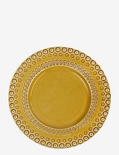 DAISY Dinnerplate 29 cm 2-PACK - ruokalautaset - sienna