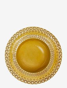 DAISY Soupbowl 21 cm 2-PACK - dype tallerkener - sienna