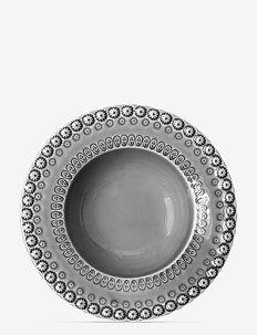 DAISY Soupbowl 21 cm 2-PACK - djupa tallrikar - soft grey