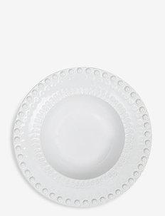 DAISY Soupbowl 21 cm 2-PACK - astiat - white