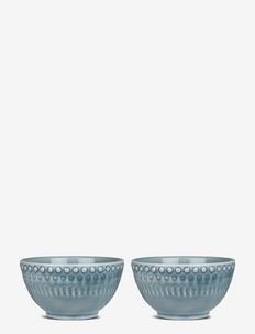 DAISY Small Bowl 2-PACK - skålar - dusty blue