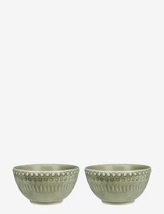 DAISY Small Bowl 2-PACK - skålar - faded army