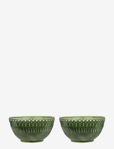 DAISY Small Bowl 2-PACK - kulhot - forest