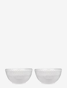 DAISY Small Bowl 2-PACK - tarjoilukulhot - white