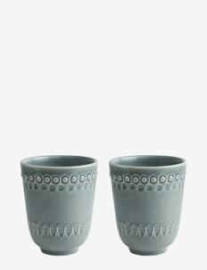 DAISY Mug 2-PACK - muggar & koppar - cement