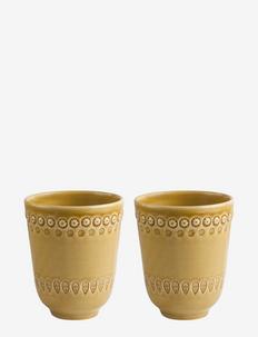 DAISY Mug 2-PACK - muggar & koppar - sienna