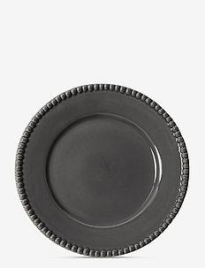 DARIA Dinnerplate 28 cm stoneware 2 -pack - ruokalautaset - clean grey