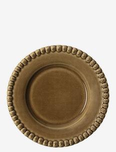 DARIA breadplate 18 cm stoneware 2-pack - middagstallerkener - umbra