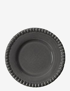 DARIA breadplate 18 cm stoneware 2-pack - leipälautaset - clean grey