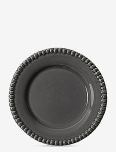 DARIA Dessertplate 22 cm stoneware 2-pack - leipälautaset - clean grey