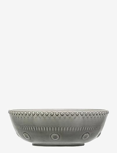 Daisy Saladsbowl 23 cm - salaattikulhot - soft grey