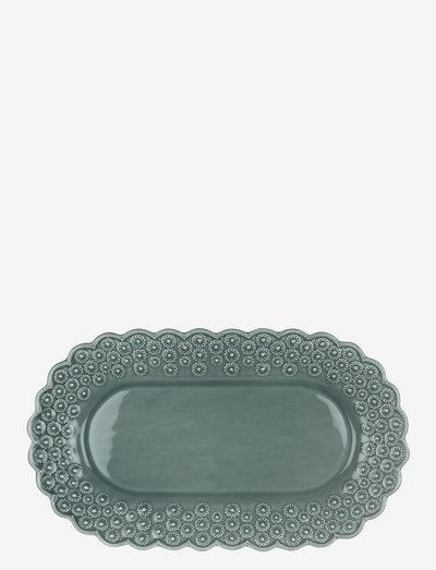 DITSY Oval platter 1-PACK - tarjoiluastiat ja -lautaset - cement
