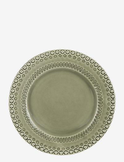DAISY Dinnerplate 29 cm 2-PACK - ruokalautaset - faded army