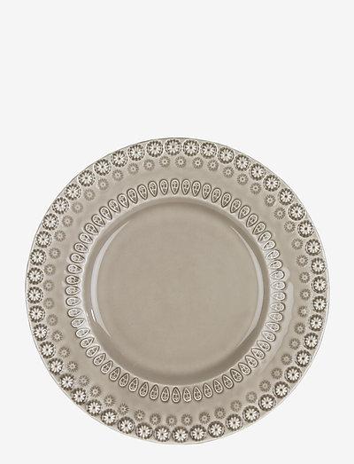 DAISY Dinnerplate 29 cm 2-PACK - ruokalautaset - greige