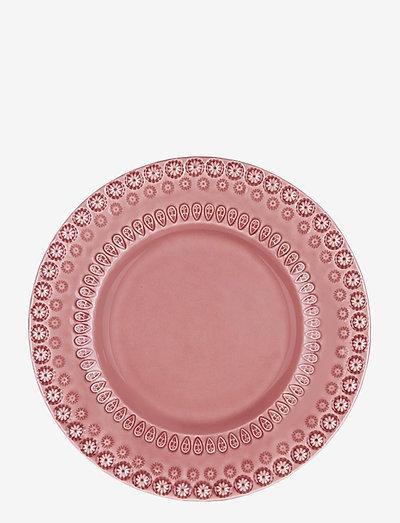 DAISY Dessertplate 22 cm 2-PACK - leipälautaset - rose