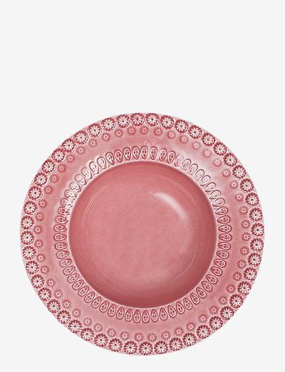 DAISY Soupbowl 21 cm 2-PACK - syvät lautaset - rose