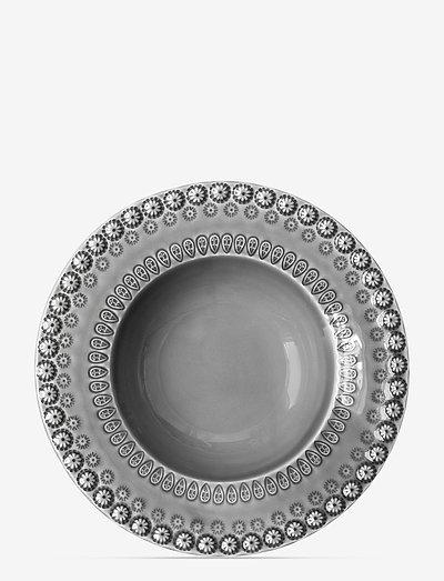 DAISY Soupbowl 21 cm 2-PACK - syvät lautaset - soft grey