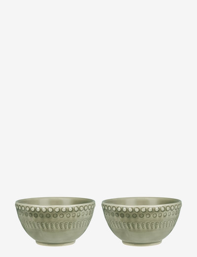 DAISY Small Bowl 2-PACK - tarjoilukulhot - faded army