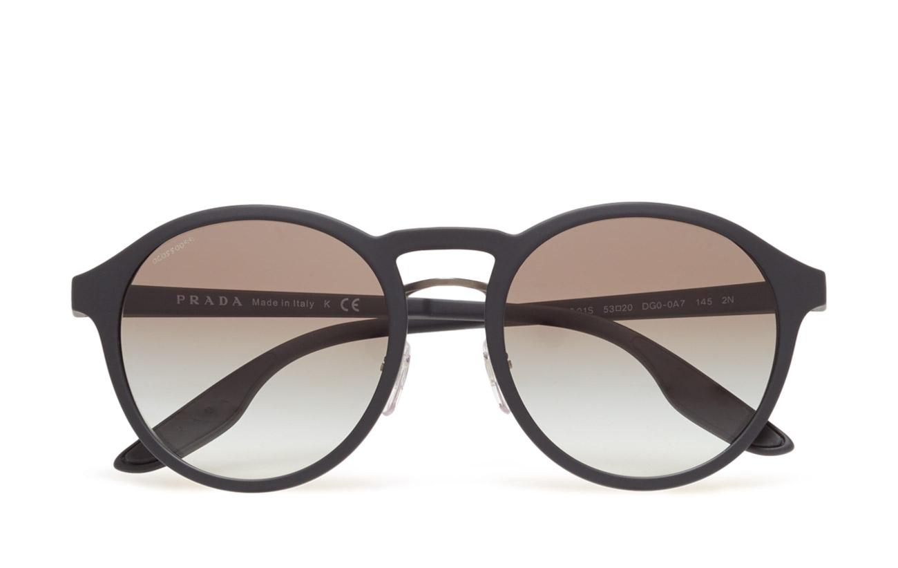 D-frame (Black Rubber) (£117.60) - Prada Sport Sunglasses -   Boozt.com