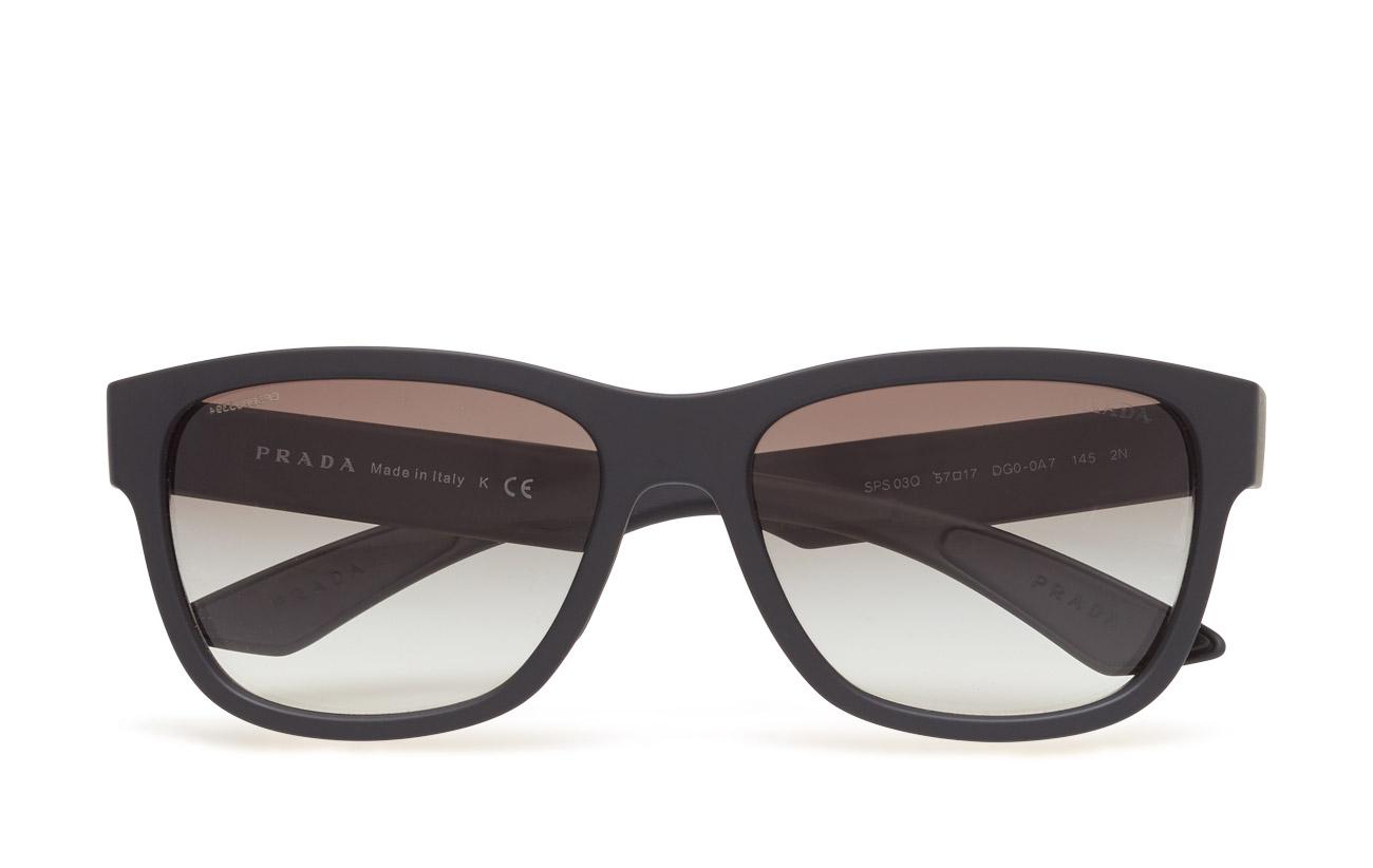 6b9a7d608cac 0ps 03qs (Black Rubber) (1480 kr) - Prada Sport Sunglasses -
