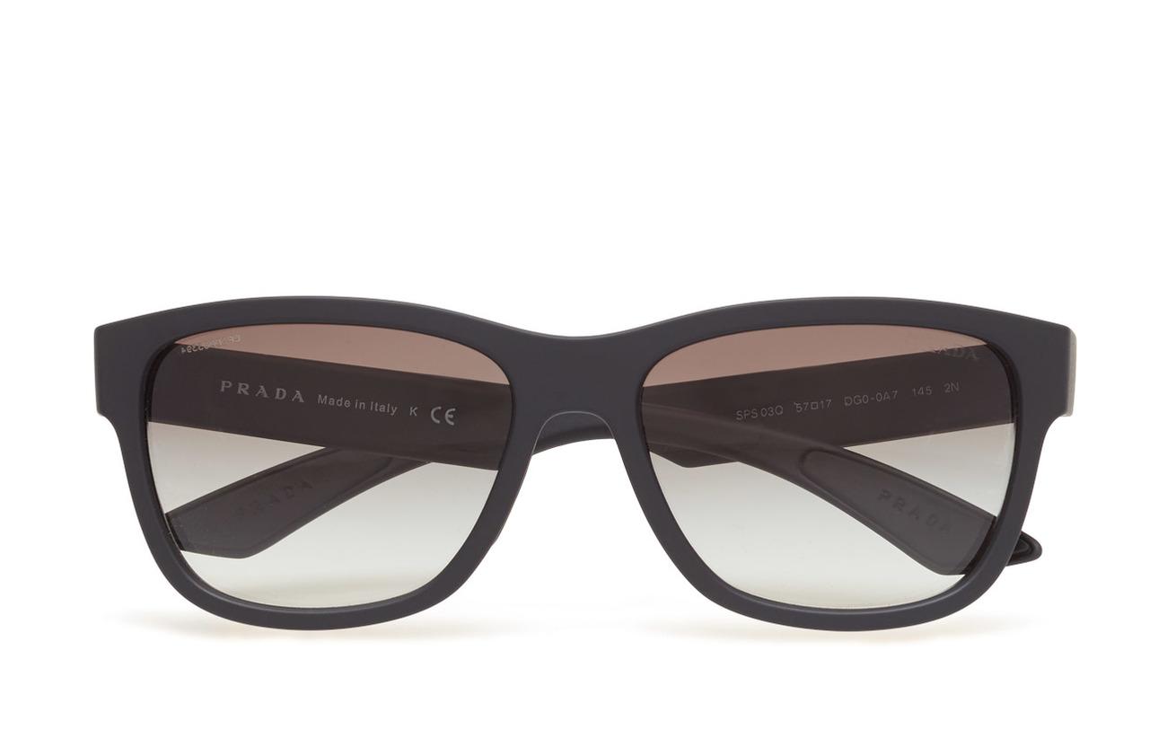 RubberPrada 0ps Sunglasses 03qsblack Sport LUjqpGSVzM