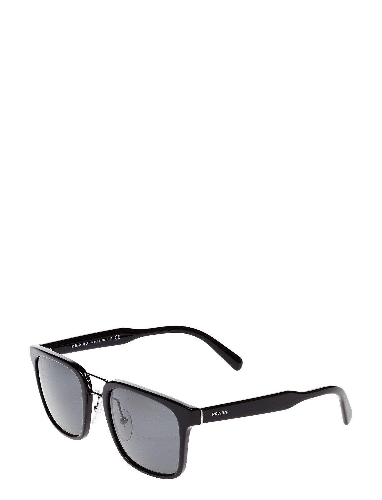 D Frame Wayfarer Solbriller Sort PRADA SUNGLASSES