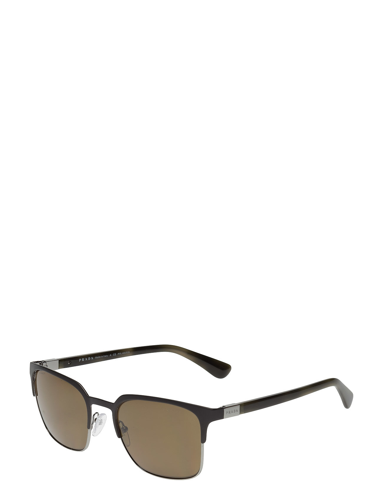 Heritage Wayfarer Solbriller Brun Prada Sunglasses