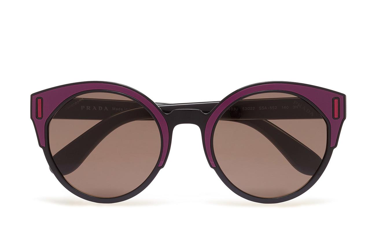 f453ccb9c0f5 Women's Sunglasses (Black/bordeaux/fuxia) (£217) - Prada Sunglasses ...