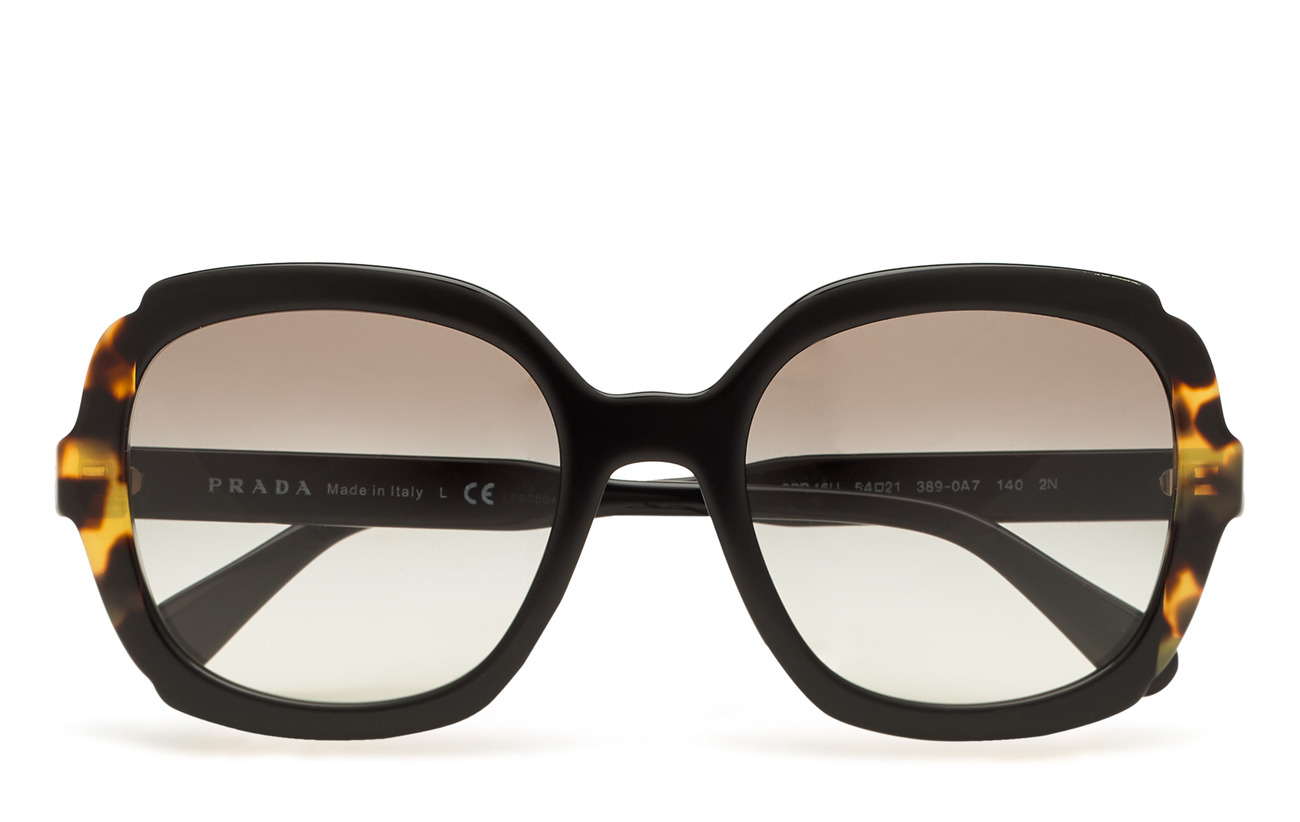 Prada Sunglasses 0PR 16US - BLACK/MEDIUM HAVANA