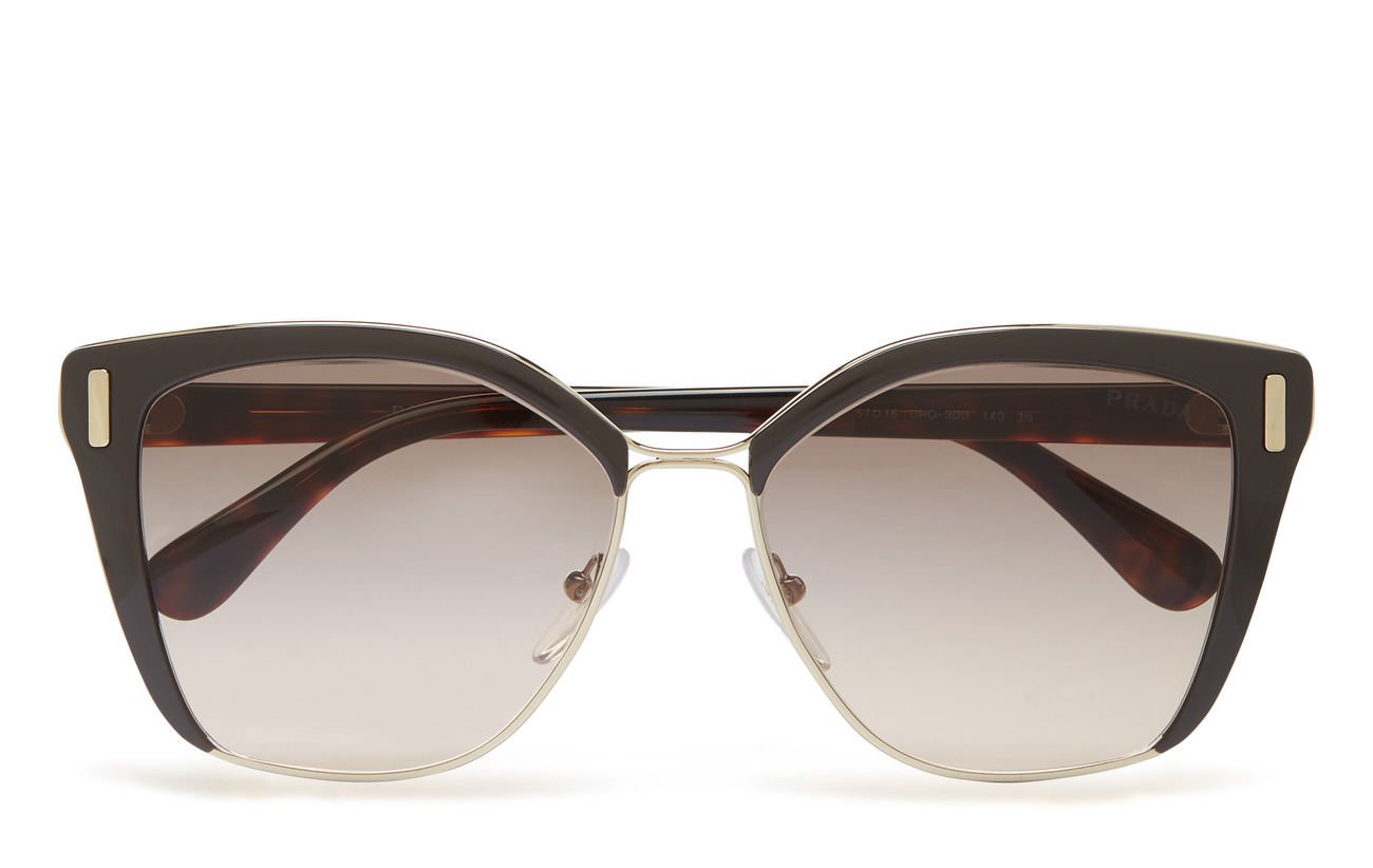 Prada Sunglasses 0PR 56TS - BROWN/PALE GOLD