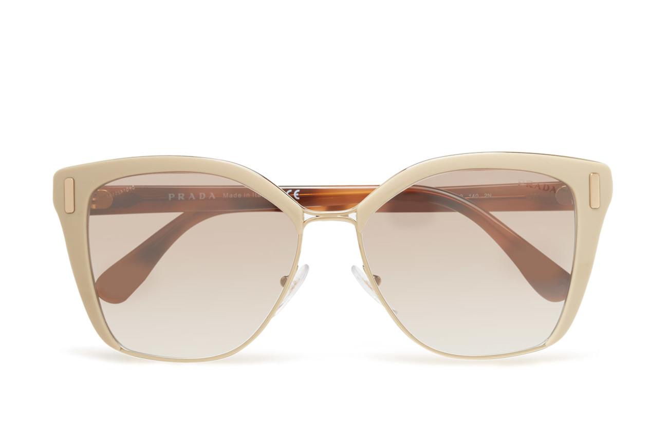 Prada Sunglasses 0PR 56TS - LIGHT BROWN/PALE GOLD