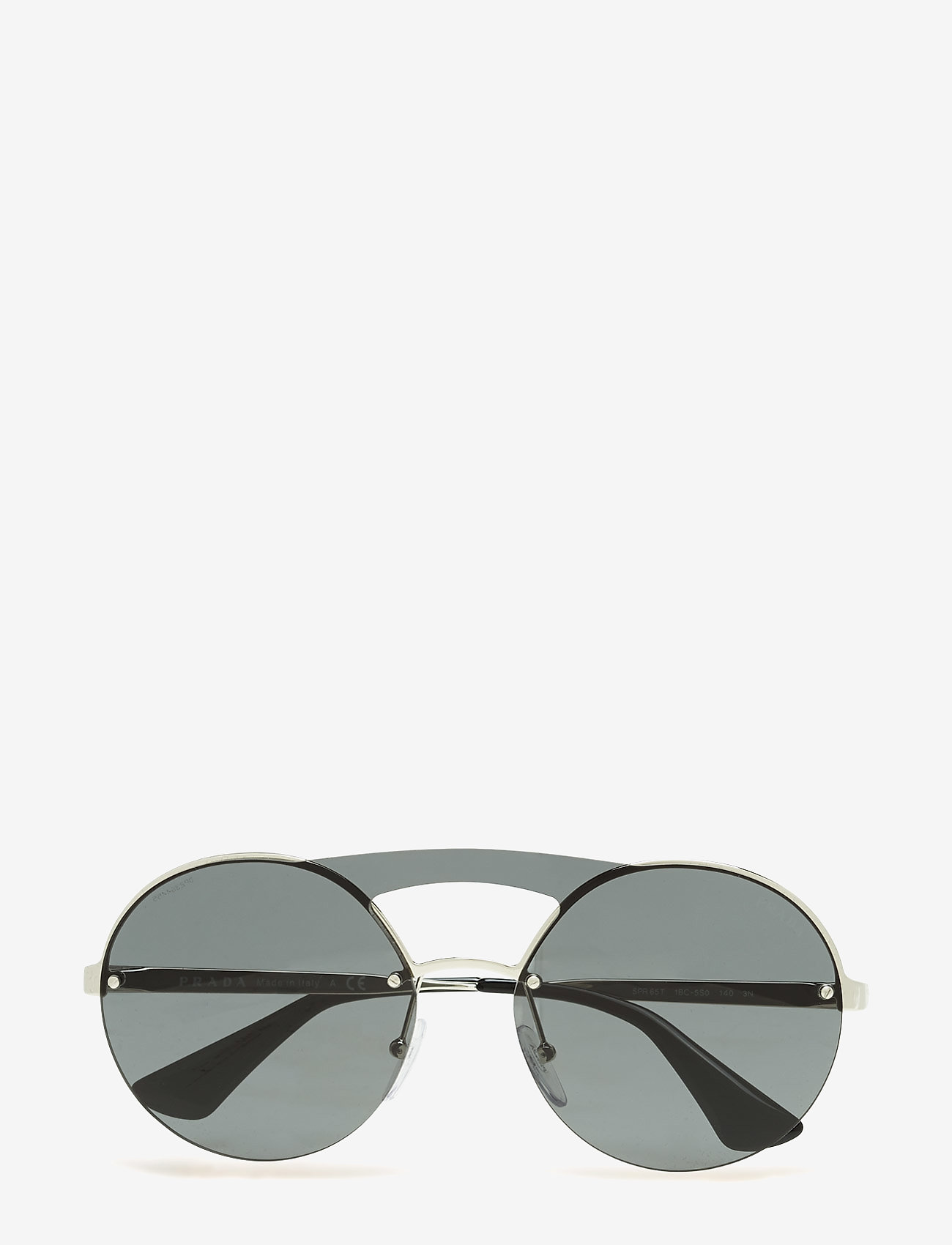 Prada Sunglasses - Not Defined - round frame - silver/multi - 0
