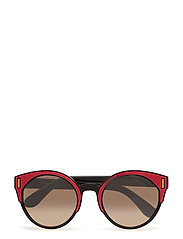 WOMEN'S SUNGLASSES - BLACK/FUXIA/YELLOW