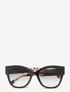Sunglasses - cat-eye - grey gradient