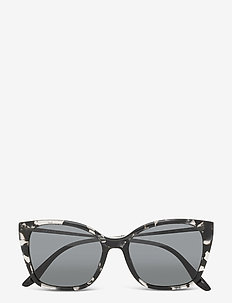 Sunglasses - cat-eye - dark grey