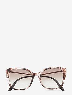 Sunglasses - cateye - grey gradient