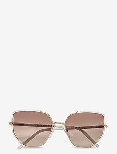 Sunglasses - pilot - brown gradient grey