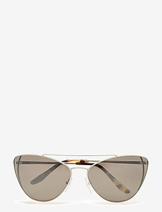 Prada Sunglasses - cat-eye - silver