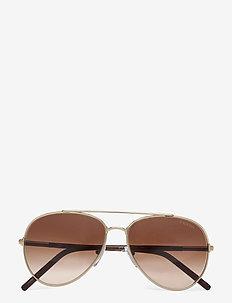 Sunglasses - pilot - brown gradient