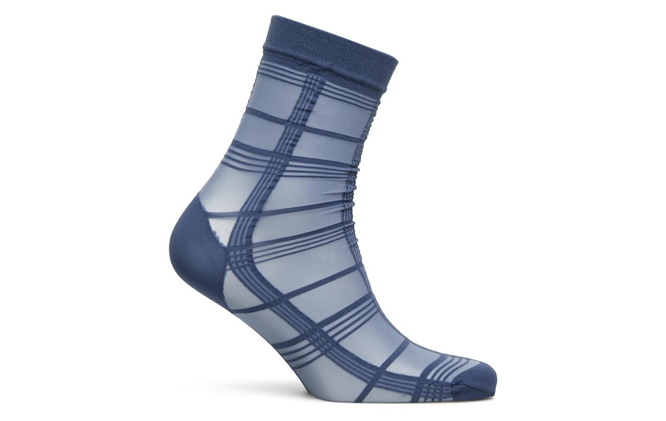 Pretty Ankle Polypropylene Stripe Pp Nylon 15 Blue 23 Polly High 62 Elastane Grid rwO6qrRIx