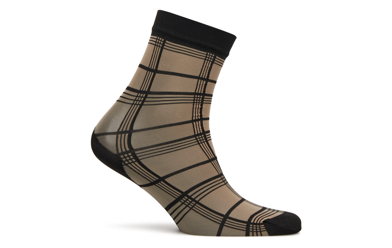 Polypropylene Ankle Pp 23 Grid Stripe Elastane Pretty 62 black High Nylon Nude Polly 15 qIzHFw