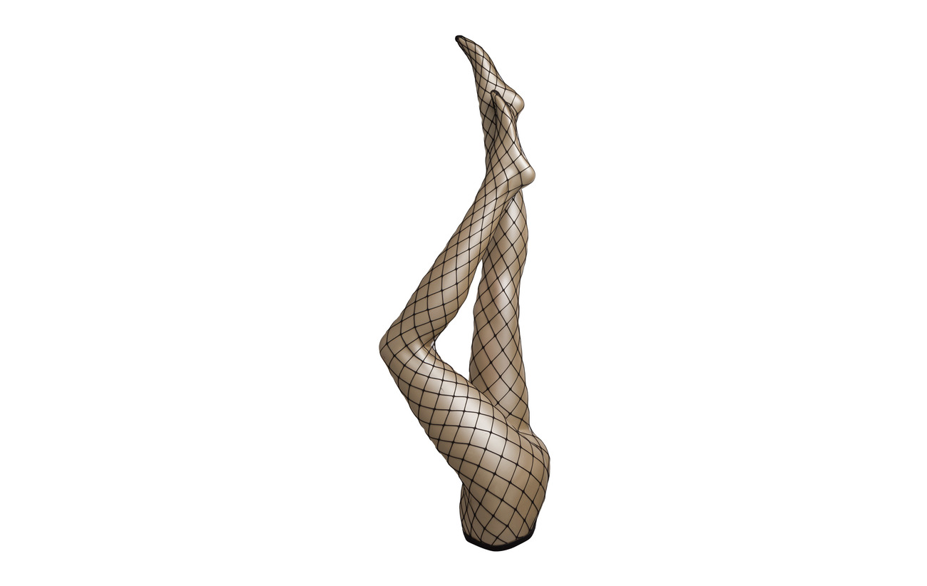 Pretty 17 Elastane Tights Polyamide Pp Black Big Jumbo 83 Polly Fishnet BwBzvxrH