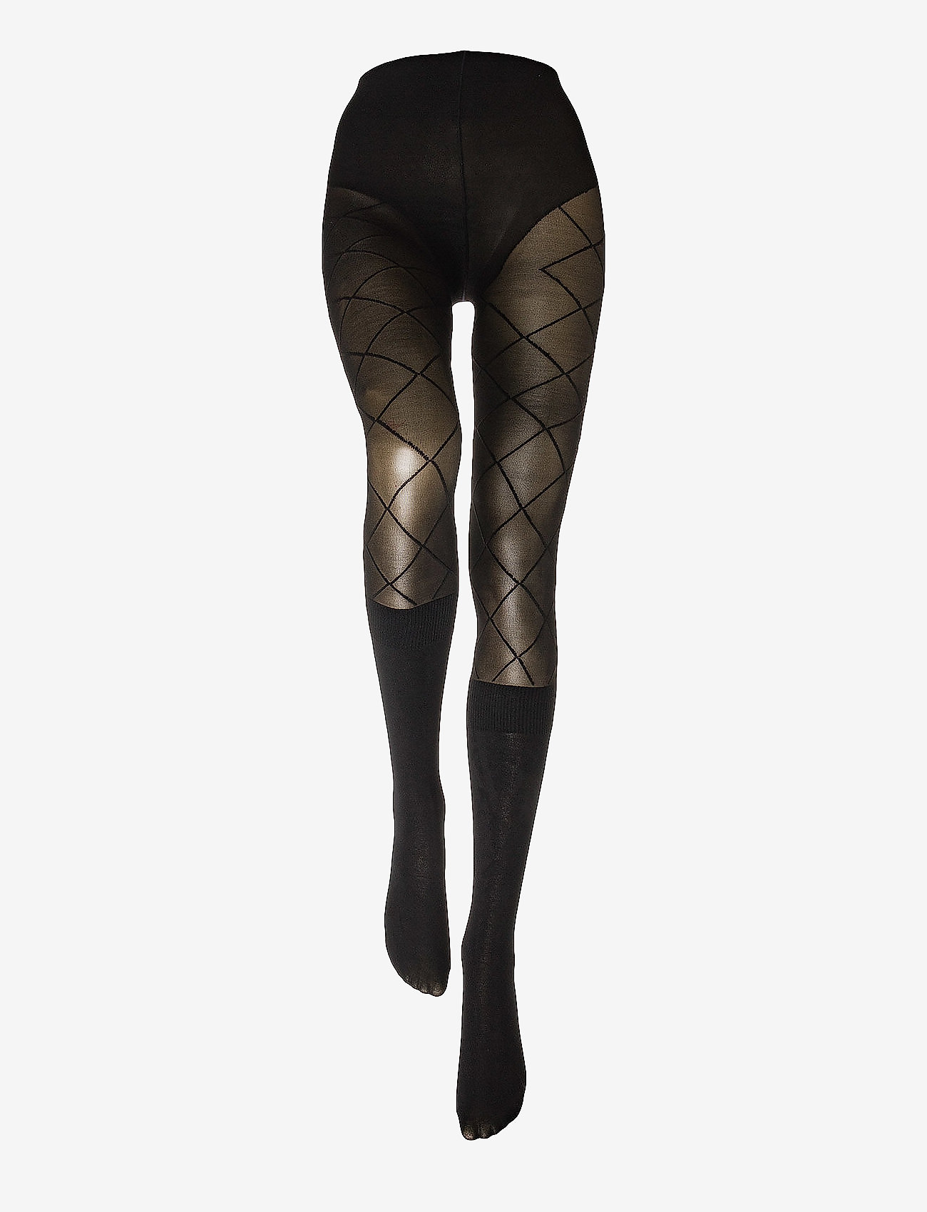 Pretty Polly - PP PATTERN MODAL SOCK TIGHTS - patroon - black - 1