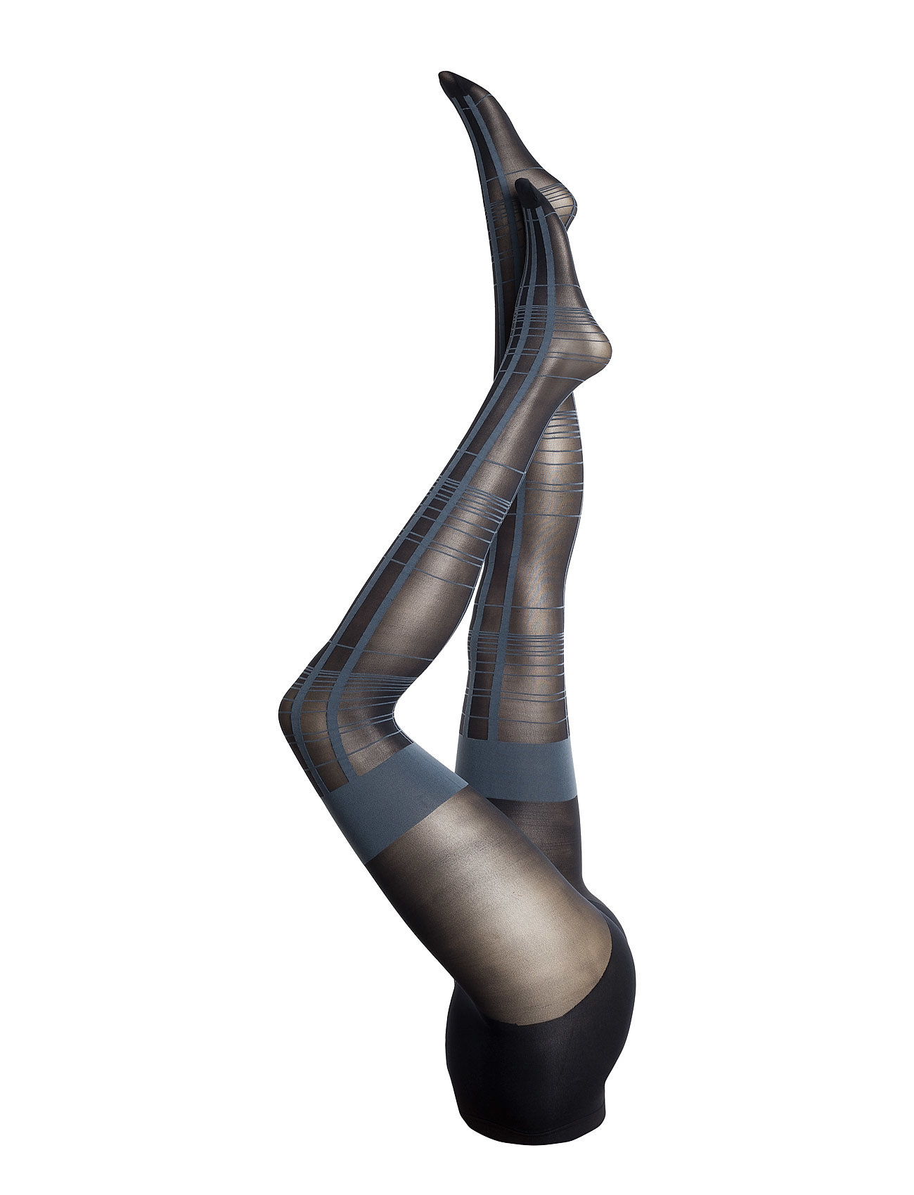 Pretty Polly PP CHECKED MOCK HOLD UP TIGHTS
