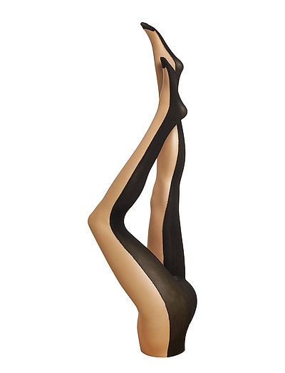 AO FRONT & BACK TIGHTS - NUDE/BLACK