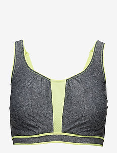 THE SWEATER SPORTS BRA - sort bras:high - cgy