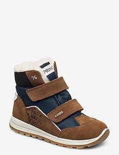 PTIGT 63567 - vinter boots - brown-blue