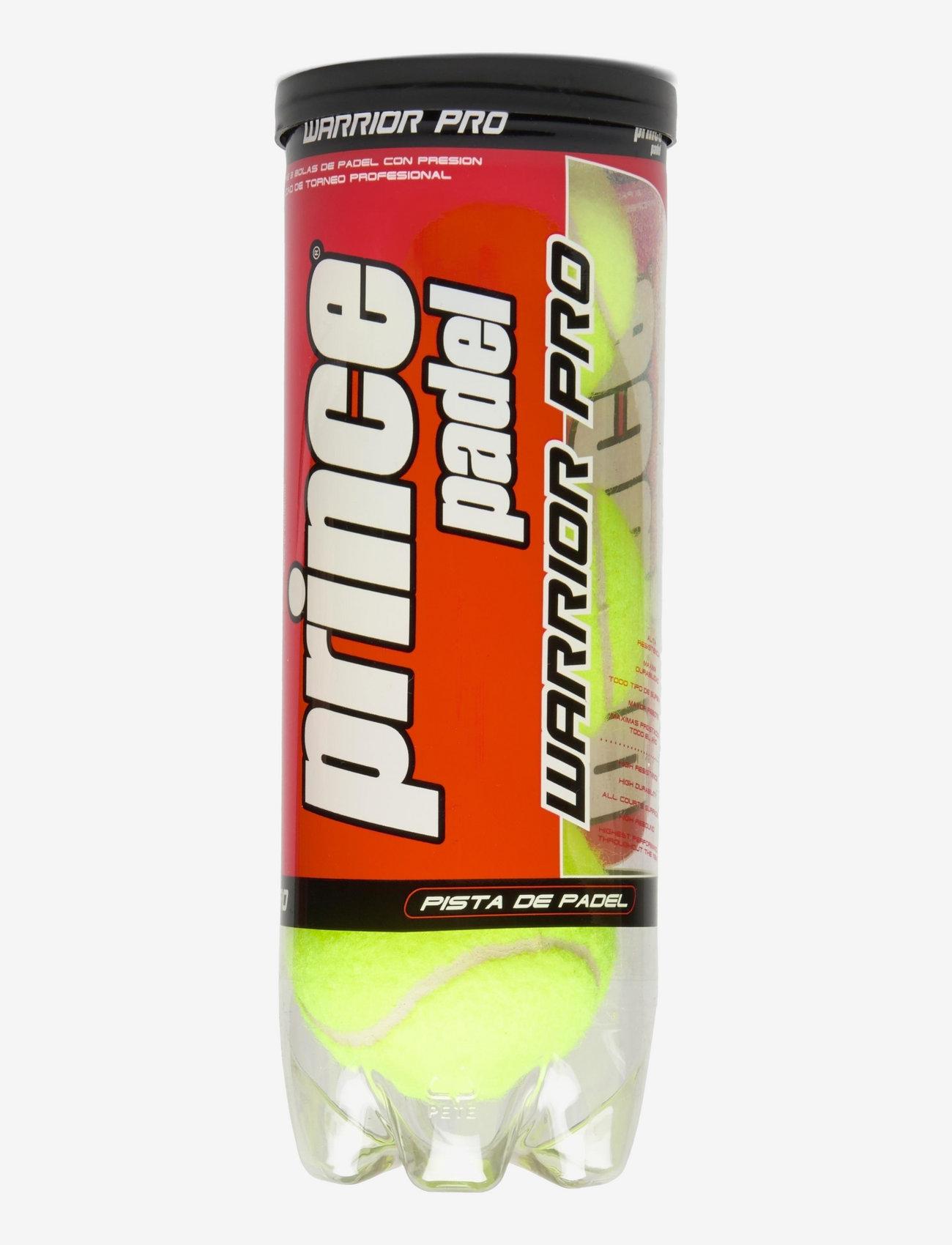 Prince - PRINCE Padel Ball Warrior Pro - bolde og tilbehør - yellow - 0